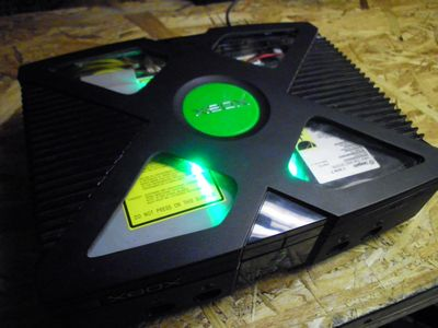 Original Xbox Custom Case | Tinker Mods